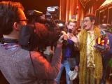 ベルギーの音楽賞番組に出演したピコ太郎