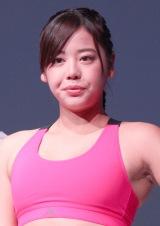 『NEW ADIDAS TRAINING』発表会に出席した坂口佳穂