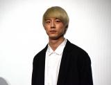 『君と100回目の恋』舞台あいさつに出席した坂口健太郎 (C)ORICON NewS inc.