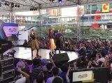 日本ポップカルチャーフェスティバル『JAPAN EXPO THAILAND 2017』に出演(左から二瓶、夏焼、小林)
