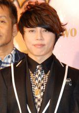 ミュージカル『ヴェローナの二紳士』製作発表記者会見に出席した西川貴教 (C)ORICON NewS inc.