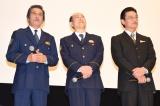 (左から)片桐竜次、小野了、神保悟志=『相棒-劇場版IV-首都クライシス 人質は50万人!特命係最後の決断』初日舞台あいさつ (C)ORICON NewS inc.