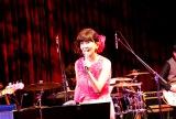 初のブルーノート公演で14曲を披露 Photo by 藤原萌