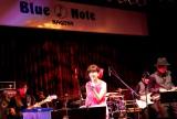 初のブルーノート公演で14曲を披露した松本伊代 Photo by 藤原萌