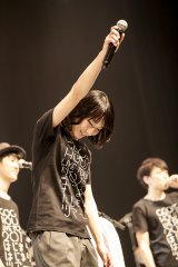 この公演をもって脱退した竹澤汀 Photo by 鳥居洋介