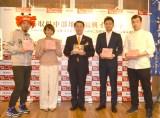 「とっとり・おかやま新橋館」で行われた鳥取県中部地震復興イベントの模様 (C)ORICON NewS inc.