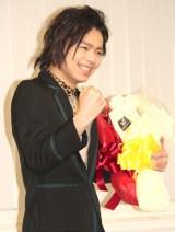 『第24回読売演劇大賞』で最優秀男優賞を受賞した中川晃教 (C)ORICON NewS inc.
