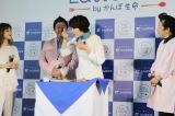 「かんぽ Eat & Smile プロジェクト」イベントに出席した潮田玲子 (C)oricon ME inc.