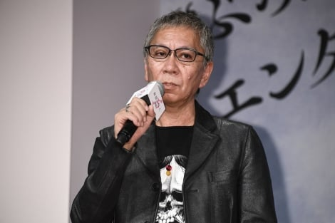 映画『無限の住人』完成報告記者会見に出席した三池崇史監督