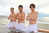 2月18日放送、TBS系『ロンブー淳の一度は行きたい!武将の隠し湯 戦国一の温泉好き!信玄と美人の湯SP』より(C)SBC信越放送