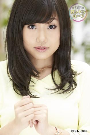 2月17日放送、テレビ朝日系『金曜★ロンドンハーツ2時間スペシャル』で奇跡の一枚大賞決定。写真は、横澤夏子の奇跡の一枚
