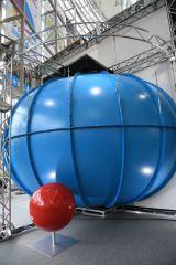 ドラえもんをイメージした球体シアター(C)藤子プロ・小学館・テレビ朝日・シンエイ・ADK2017