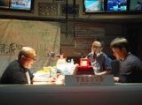 TBSラジオ『極楽とんぼの吠え魂』放送中の様子(C)TBSラジオ