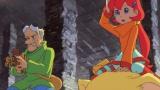 ヒャッコイ博士(CV:浪川大輔)、カーラ(CV:釘宮理恵)(C)藤子プロ・小学館・テレビ朝日・シンエイ・ADK 2017