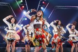 SKE48の10ヶ月ぶりとなるツアー再開初日に松井珠理奈らも駆けつけた(C)AKS
