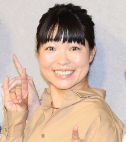 惡斗に絶賛されたイモトアヤコ=NHK総合ドラマ『あなたにドロップキックを』の記者会見 (C)ORICON NewS inc.