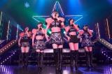 5周年・5人の新体制始動ライブ『フェアリーズLIVE2017-Synchronized-』の模様(左から)野元空、井上理香子、伊藤萌々香、下村実生、林田真尋