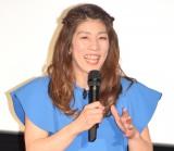 4D映画を発表初体験し興奮していた吉田沙保里 (C)ORICON NewS inc.