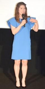 4D映画『ヤッキー・ザ・ムービー』の先行試写会に出席した吉田沙保里 (C)ORICON NewS inc.