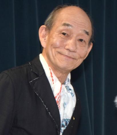NHKこども番組シリーズ『JAPANGLE』取材会に出席した笹野高史