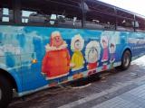 ツアーなら道内を『映画ドラえもん のび太の南極カチコチ大冒険』(3月4日公開)とコラボレーションしたラッピングバスで移動 (C)ORICON NewS inc.