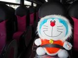 JALパックのツアー「冬の北海道でカチコチ大冒険!」なら道内を『映画ドラえもん のび太の南極カチコチ大冒険』(3月4日公開)とコラボレーションしたラッピングバスで移動 (C)ORICON NewS inc.