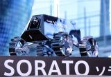 『au×HAKUTO ローバー命名式&応援楽曲初披露LIVE』でお披露目された「SORATO」 (C)ORICON NewS inc.