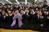 大分県中津市にある高校にて(C)NHK