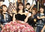 卒業コンサートを目前に控えるAKB48の小嶋陽菜(C)AKS