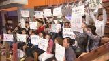 4月4日からスタートする日本テレビ系『ウチのガヤがすみません!』では総勢50組人を超えるガヤ芸人が集合(C)日本テレビ