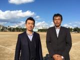日本テレビ系金曜ロードSHOW!特別エンターテインメント『人生が二度あれば』に出演する橋下徹と大野倫(C)日本テレビ