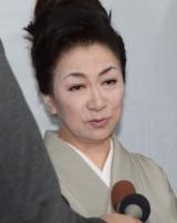 船村徹さんの通夜に参列した大月みやこ (C)ORICON NewS inc.