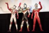 『劇場版 ウルトラマンオーブ 絆の力、おかりします!』の完成披露舞台あいさつの模様