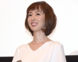 第1子出産後、初めて公の場に登場した秋山莉奈 (C)ORICON NewS inc.