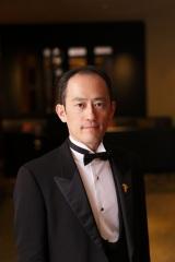 2月24日放送、NHK・BSプレミアム『スイーツ マジック』ゲストのソムリエ・谷宣英氏