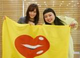 "NMB48山本彩(左)と渡辺直美は意外な""よしもとコンビ"""