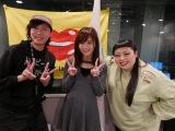 23日放送のJ-WAVE『AVALON』(左から)清水大夢(俄然ロック)、山本彩、渡辺直美