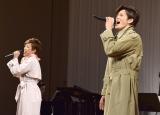 ミュージカル・コメディ『パジャマゲーム』制作発表に出席した(左から)北翔海莉 、新納慎也 (C)ORICON NewS inc.