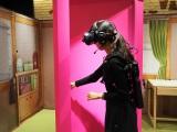 VRゴーグルと体感マシンによって「どこでもドア」を開くたびに次々に広がる別世界を現実さながらに全身で体感することができる(C)ORICON NewS inc.
