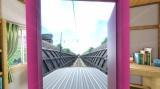 電車の車両の上がどれほど危険か、体験できる(C)藤子プロ・小学館・テレビ朝日・シンエイ・ADK 2017 (C)BANDAI NAMCO Entertainment Inc.