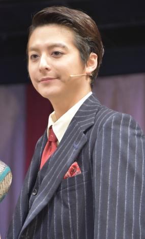 ミュージカル『キャバレー』の会見に出席した小池徹平 (C)ORICON NewS inc.