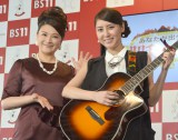 (左から)島崎和歌子 、おかゆ (C)ORICON NewS inc.
