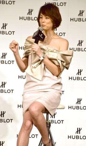 『HUBLOT LOVES WOMEN AWARD for Entrepreneurship』の表彰式にプレゼンターとして登場した米倉涼子 (C)ORICON NewS inc.