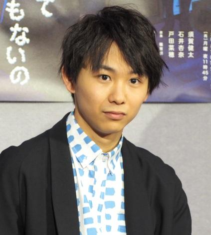 ドラマ『嘘なんてひとつもないの』の試写会に出席した須賀健太 (C)ORICON NewS inc.
