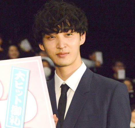 映画『一週間フレンズ。』の大ヒットイベントに出席した上杉柊平 (C)ORICON NewS inc.