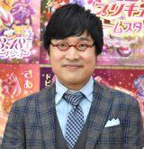 『映画プリキュアドリームスターズ!』の公開アフレコ取材に出席した山里亮太 (C)ORICON NewS inc.