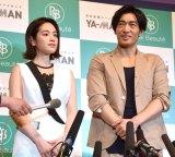 (左から)筧美和子、大谷亮平 (C)ORICON NewS inc.