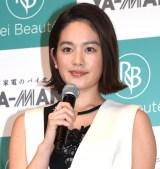 『レイボーテ R フラッシュ』発表会に出席した筧美和子(C)ORICON NewS inc.