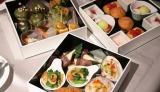彩も鮮やかな料理が詰め込まれた『SAKURAテラスボックス』(1名4000円※2名より/税別) (C)oricon ME inc.