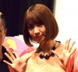映画『商店街戦争〜SUCHICO〜』の初日舞台あいさつに出席した高野祐衣 (C)ORICON NewS inc.
